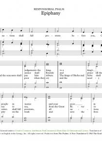 Psalm: Epiphany